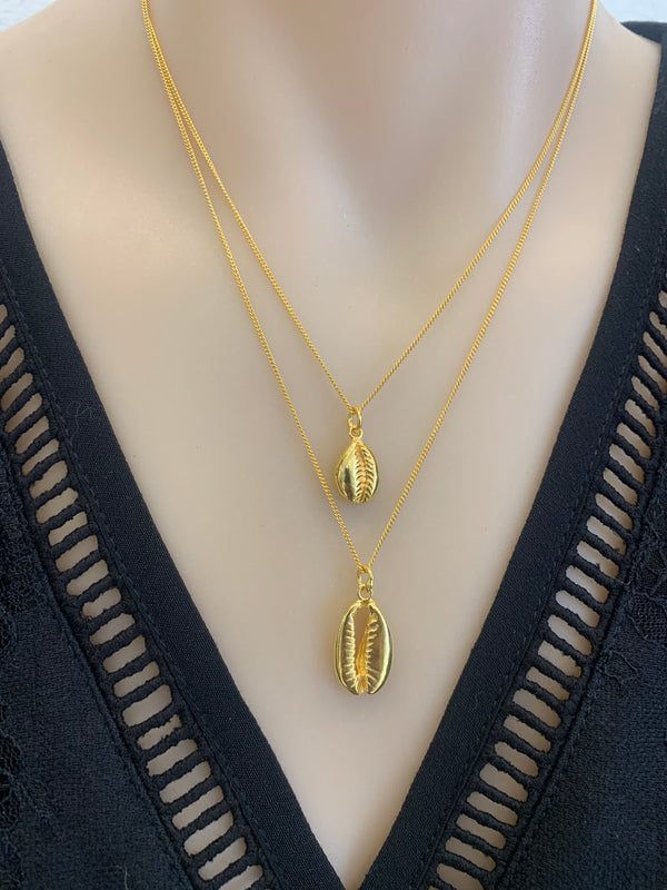 Hiraani Double Shell Necklace