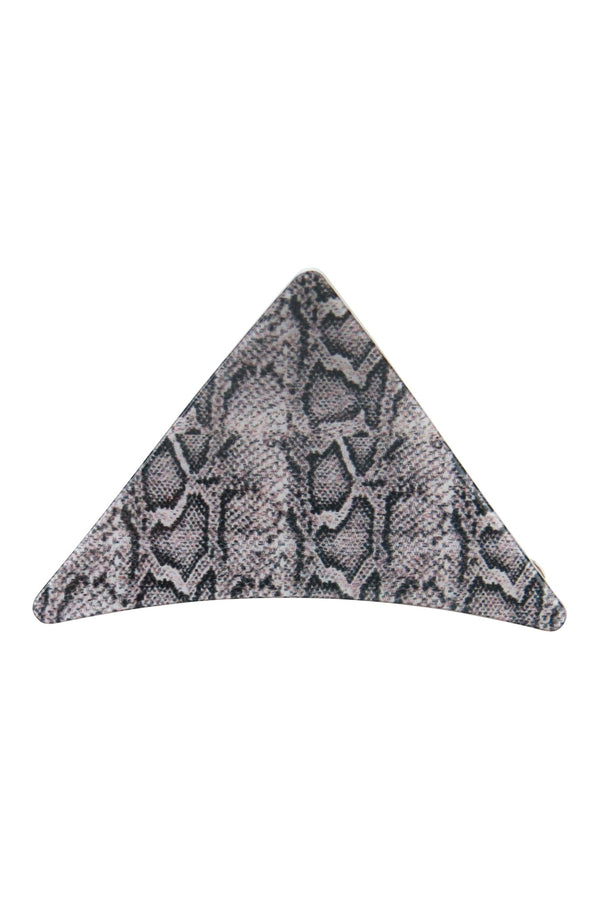 Morgan & Taylor - Marcia Hair Clip - Grey Snake
