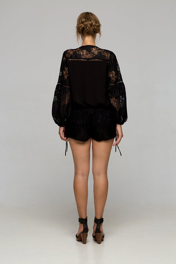 Palma - Maggie May Blouse (Black)