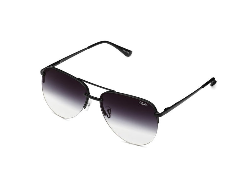 QUAY - The Playa Sunglasses black fade