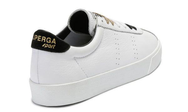 Superga - CLUBS COMFLEASUEU WHITE BLACK