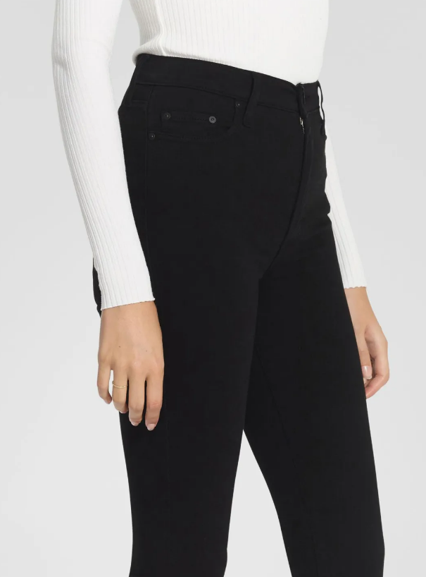 Nobody Denim:  Siren Skinny Ankle Jeans (Powerblack)