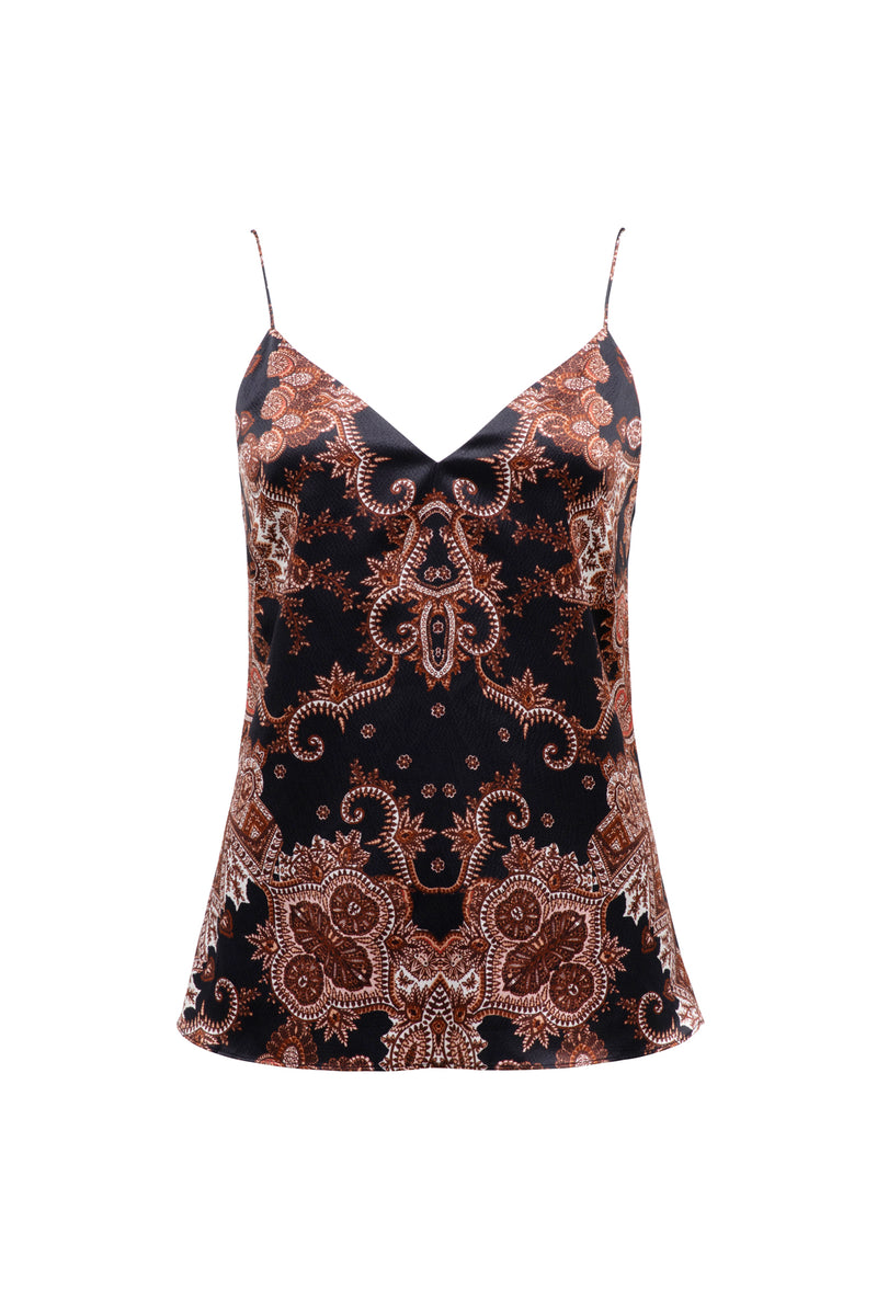 THURLEY - Oracle Cami (Black Coral)
