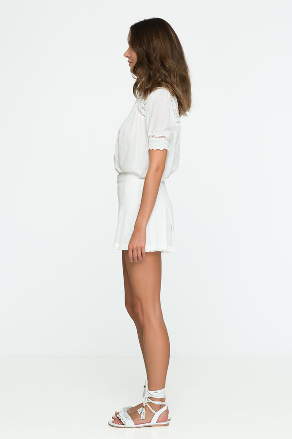 Palma - Caliente Blouse (White)