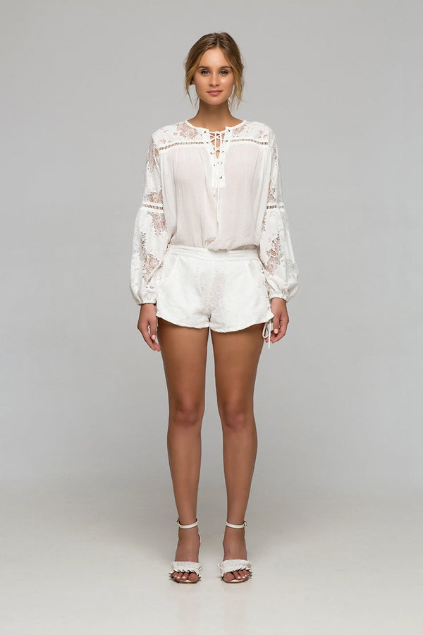 Palma - Maggie May Blouse (White)