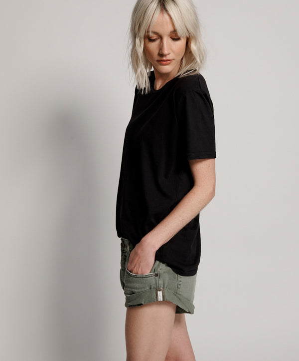 One Teaspoon - Super Khaki Bandits Denim Short