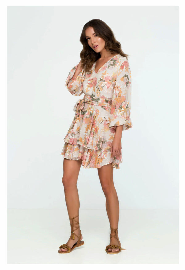 Palma - Wild Bloom Mini Dress