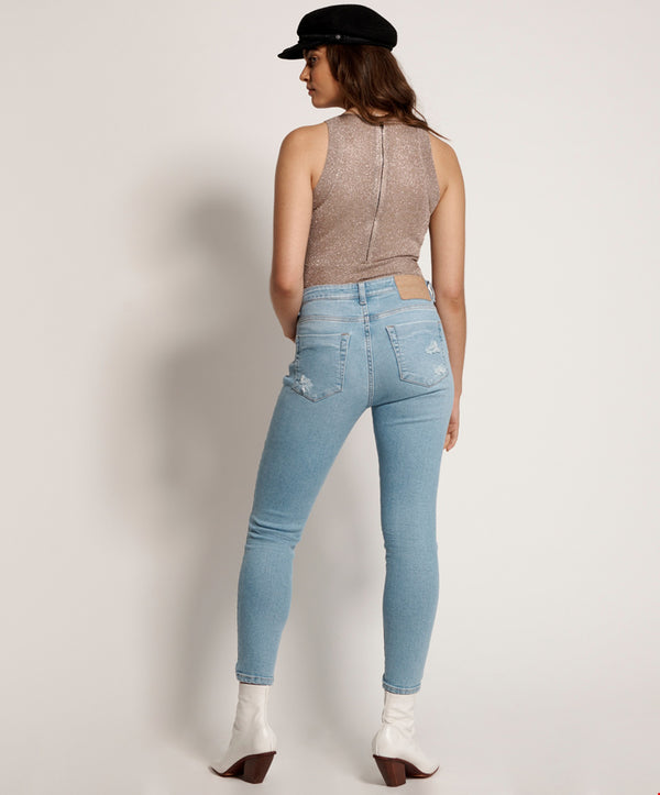 ONE TEASPOON - Oahu Freebirds II High Waist Skinny Jean