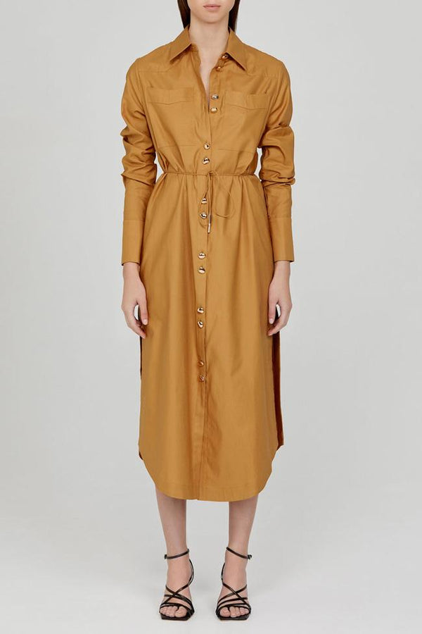 ACLER - Culiford Shirt Dress (Carob)