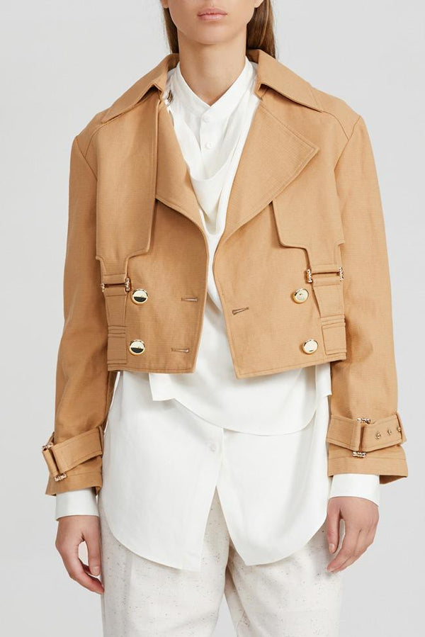 Elysian Collective Acler Vermont Jacket Biscuit