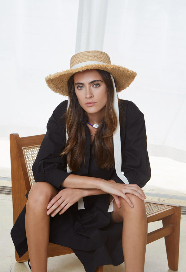 AVENUE THE LABEL - Stella Fray Boater