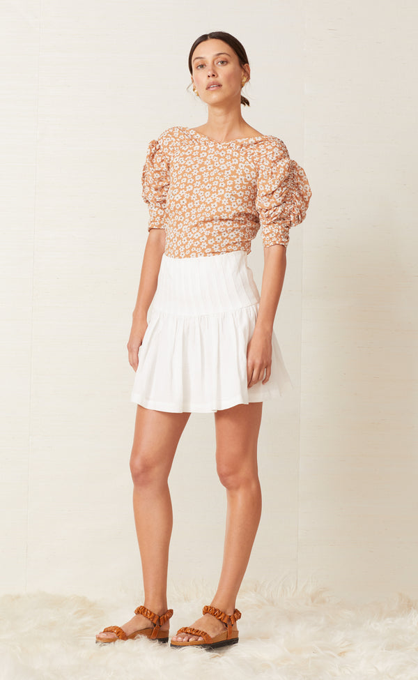 BEC & BRIDGE - Charlie Mini Skirt (Ivory)
