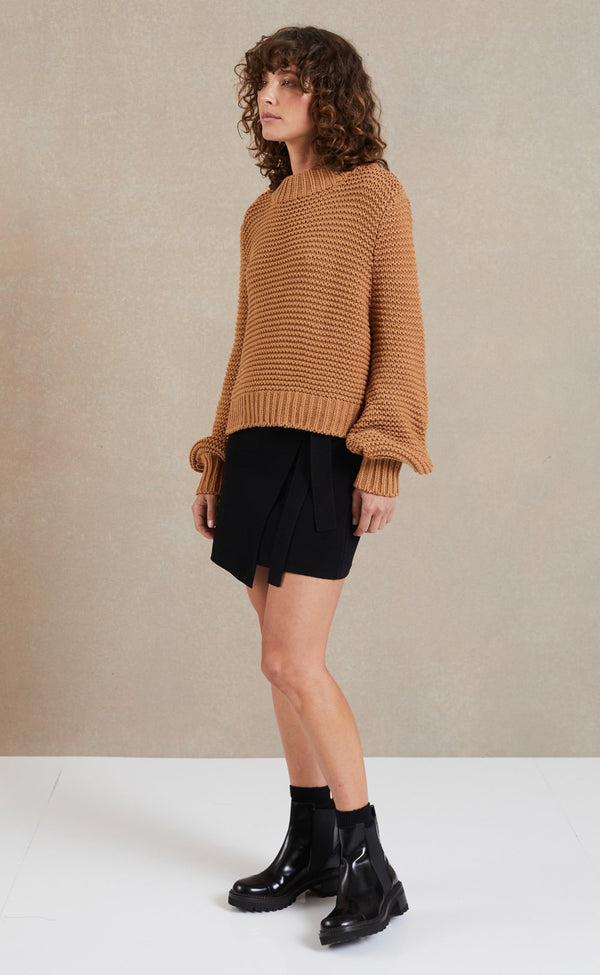 Elysian Collective Bec & Bridge Elsa Knit Camel