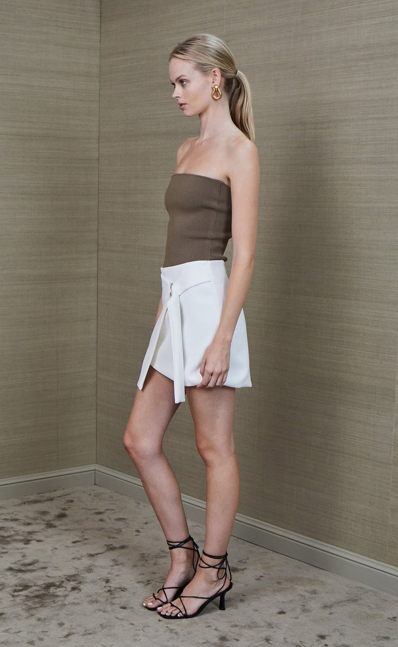 BEC & BRIDGE - Pearl Mini Skirt (Ivory)