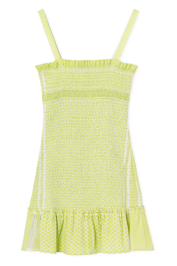 CECILIE COPENHAGEN - Judith Dress (Avocado Green)