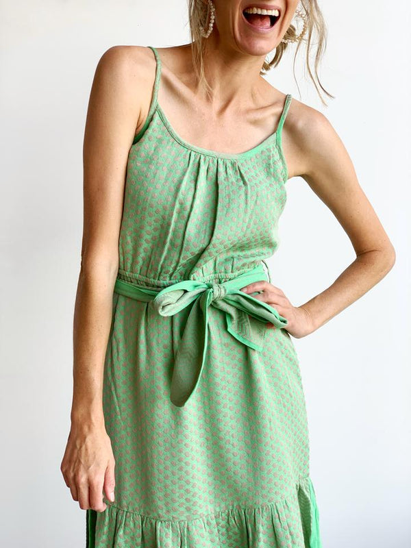 CECILIE COPENHAGEN - Rose Dress (Minty)