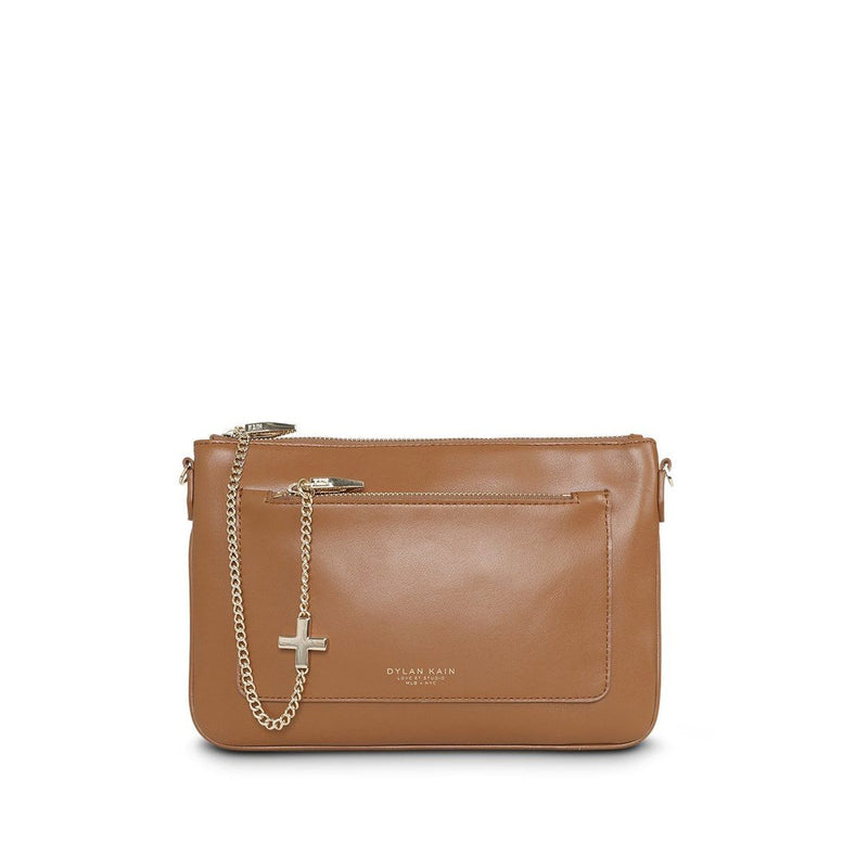 DYLAN KAIN - The Margot Bag Tan Light Gold