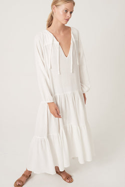 HONOUR APPAREL - Remember Me Maxi Dress (White)