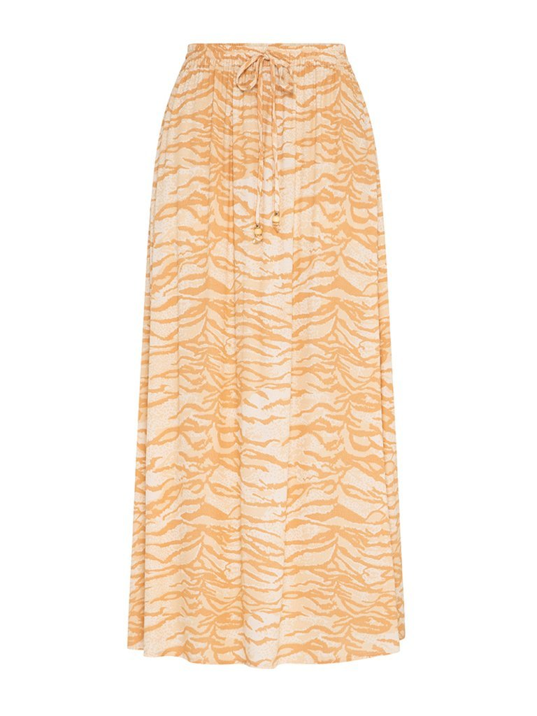 KIVARI - Brooklyn Zebra Midi Skirt
