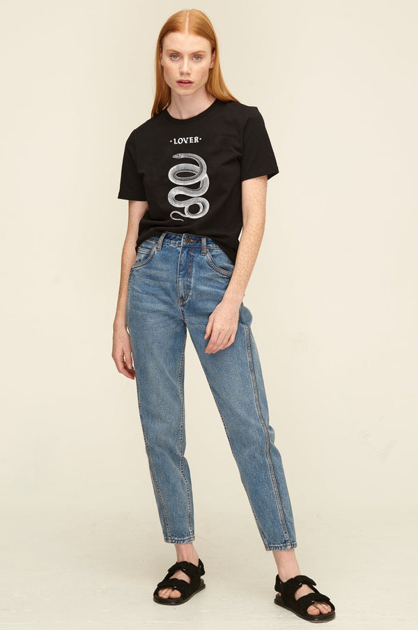 LOVER - Serpent Tee (Black)