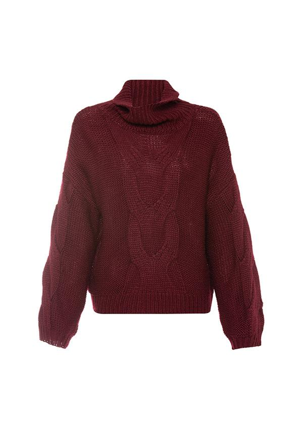 MINISTRY OF STYLE - Everlast Knit Sweater (Mulberry)