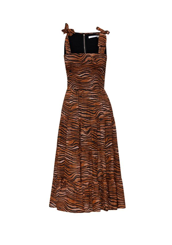 MINISTRY OF STYLE - Tigress Strap Midi Dress