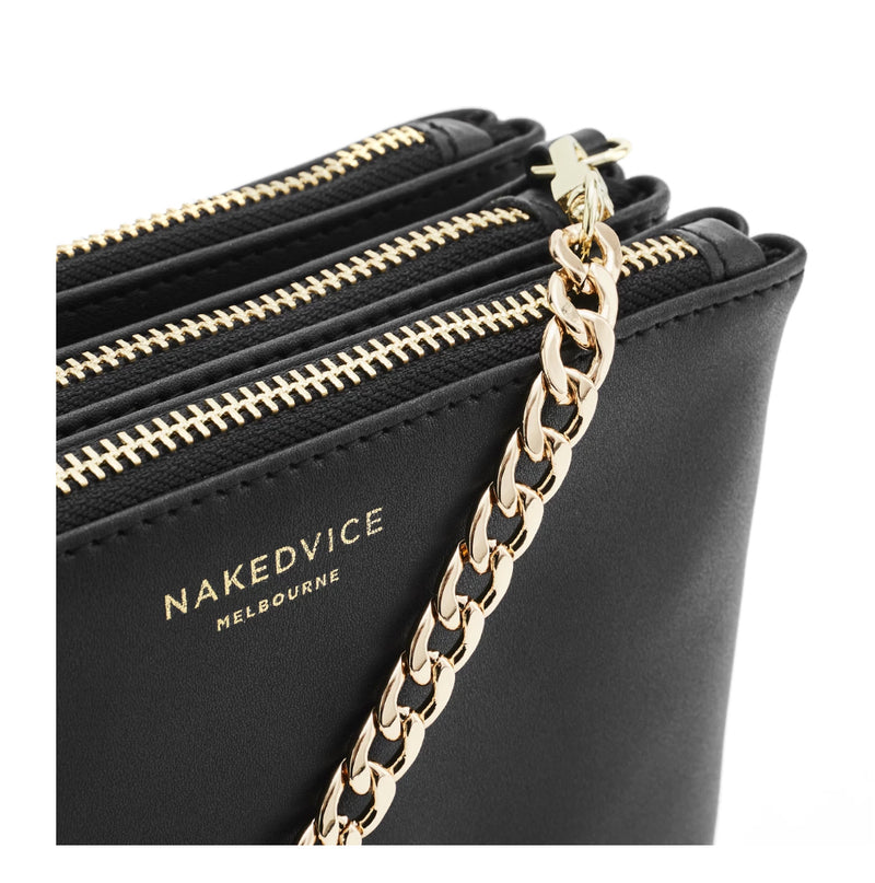 Naked Vice - THE NAOMI GOLD SIDE BAG