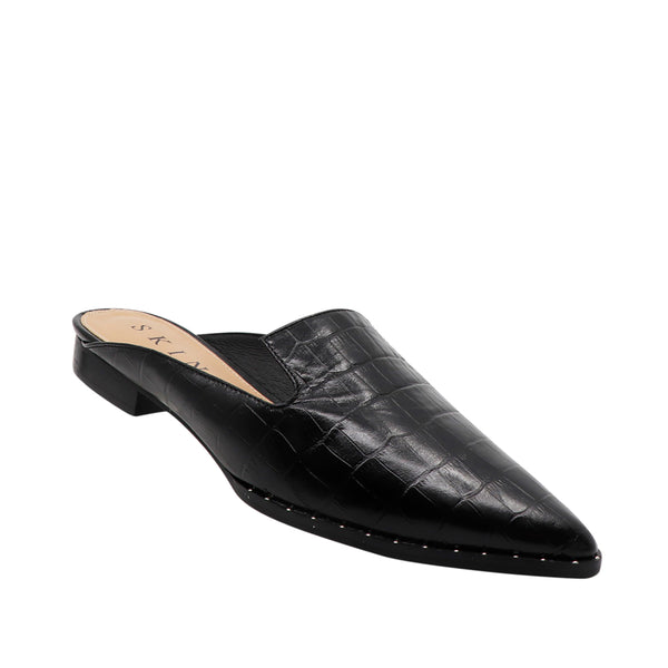 Skin Footwear - Lyncoln (Black Croc)