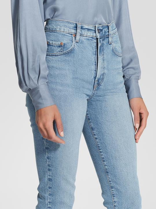 NOBODY DENIM - Frankie Jean Ankle Stretch (Scribe)
