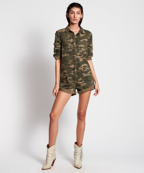 ONE TEASPOON - Camo Phrophecy Jumpsuit