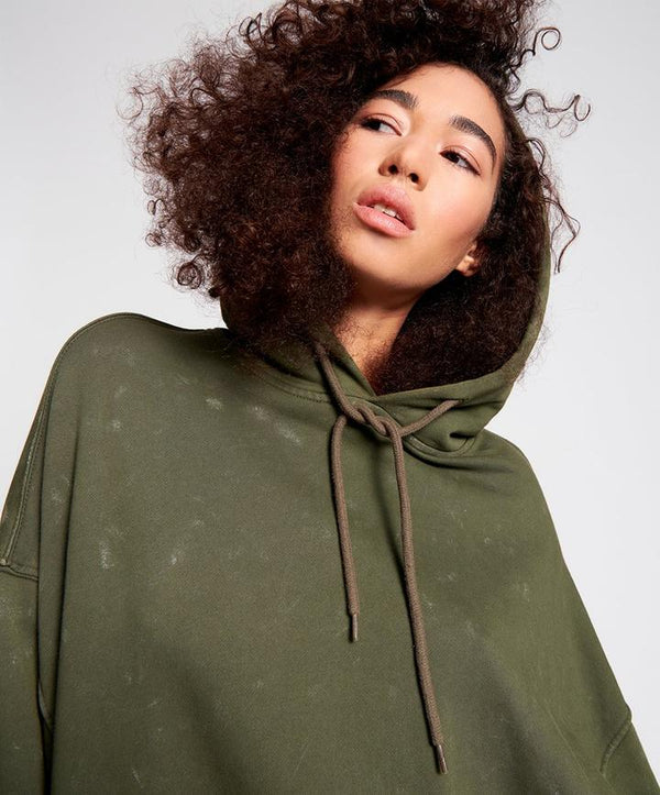ONE TEASPOON - Painted Bowerbird Batwing Hoodie