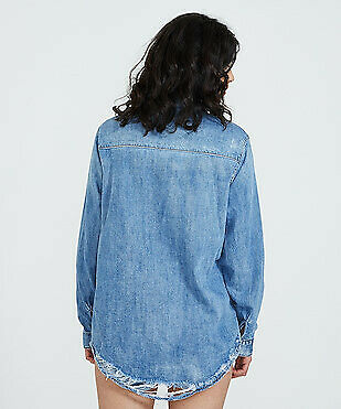 ONE TEASPOON - Texan Blue New Vintage Denim Shirt