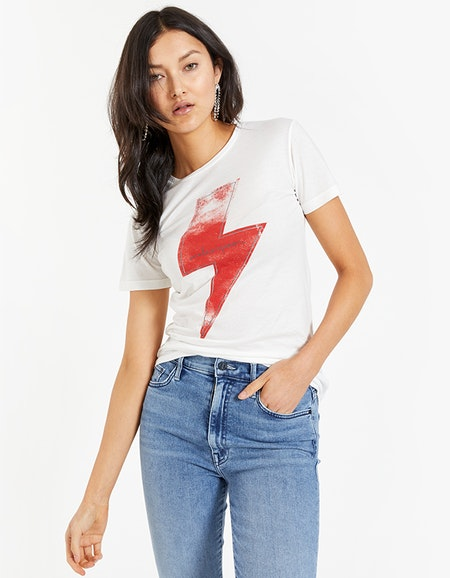 ONE TEASPOON - White Lightning Fitted Tee