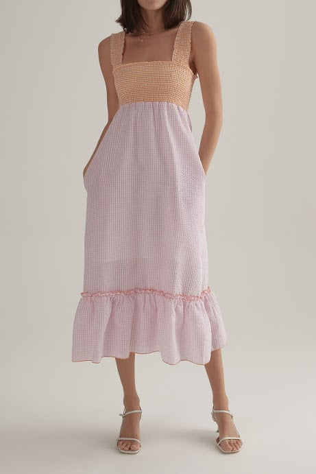 OWNLEY - Clyde Dress (Mixed Gingham)