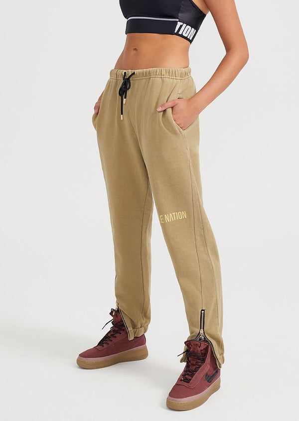 Elysian Collective PE Nation Defense Track Pant Olive