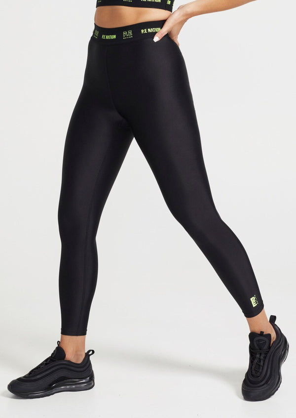 PE NATION - Line Point Legging (Black)