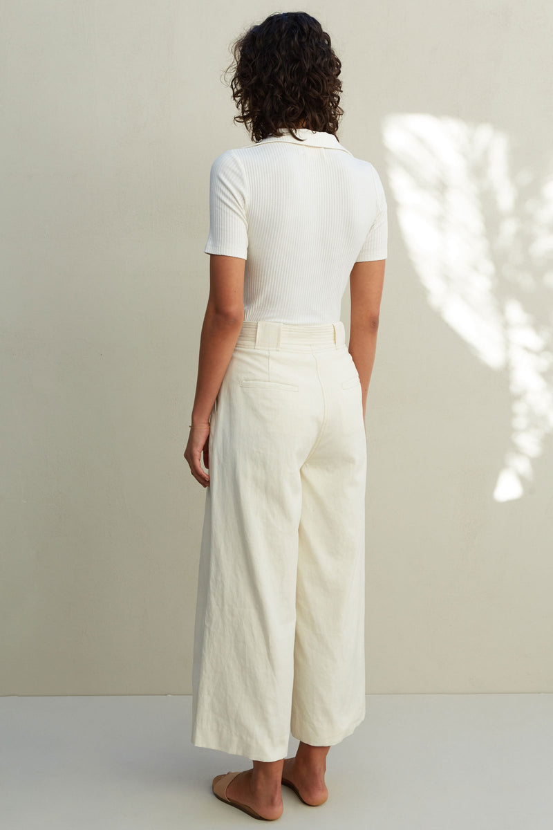 SANCIA - The Marla Pants (Seashell)