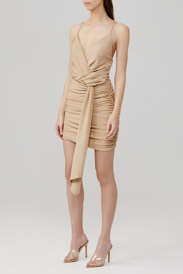 SIGNIFICANT OTHER - Deia Dress (Gold)
