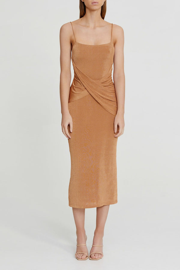 SIGNIFICANT OTHER - Evelyn Dress (Sand)