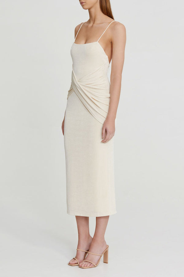 SIGNIFICANT OTHER - Evelyn Dress (Pearl)