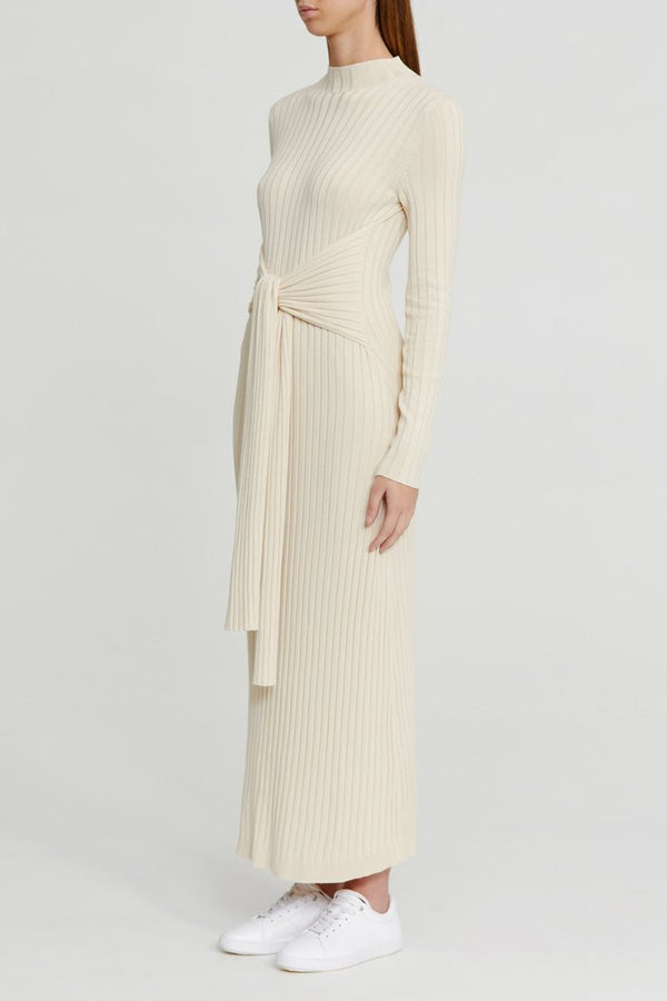 SIGNIFICANT OTHER - Ariana Knit Dress (Cream)