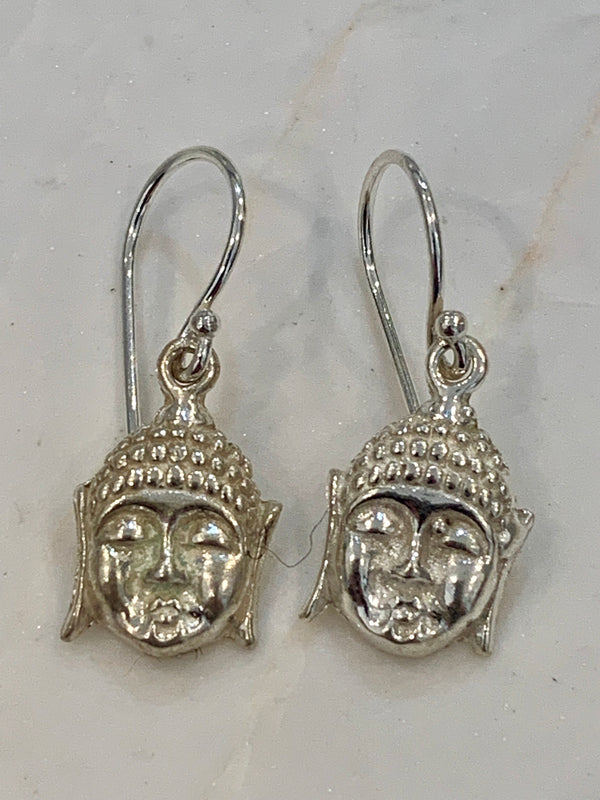 Hiraani - Buddha Earrings (Silver)