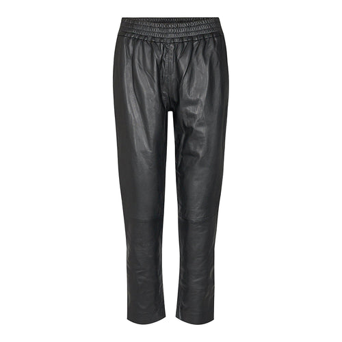SHILOH CROPPED LEATHER PANT-Co' Couture-minlillebutik