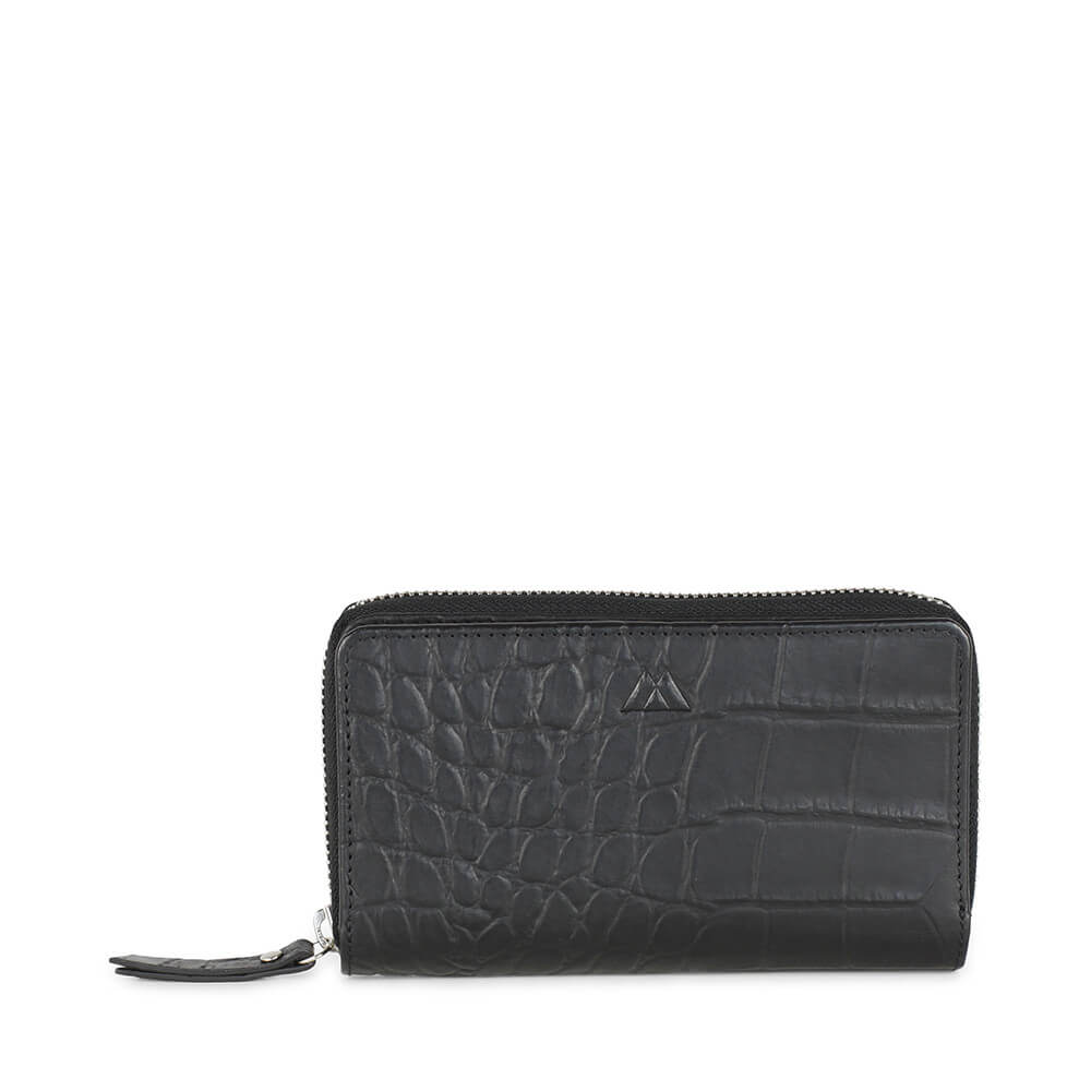 BAY WALLET CROCO-Mark Berg-minlillebutik