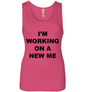 A New Me - Jersey Tank - Empowering You