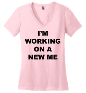A New Me - V-neck - Empowering You
