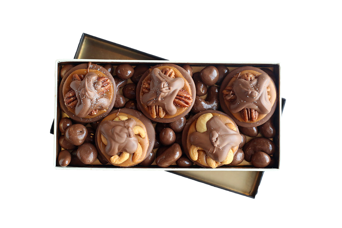 Captivating Claws Milk Chocolate Belgian Box
