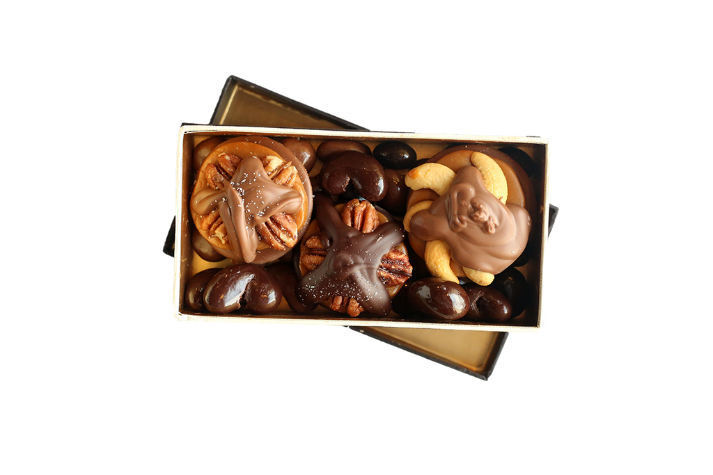 Captivating Claws Milk and Dark Chocolate Belgian Box