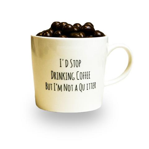 Jolly Java Dark Chocolate Espresso Mug