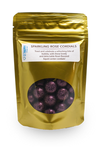 Sparkling Rose Cordials
